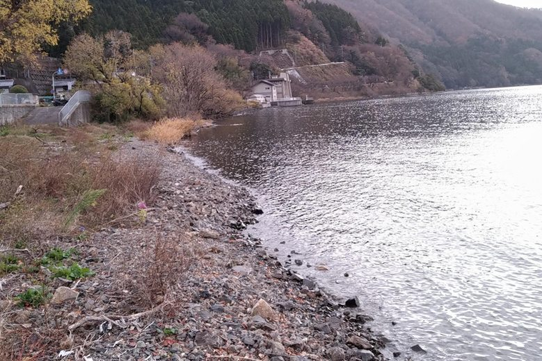 飯浦の岸の地形