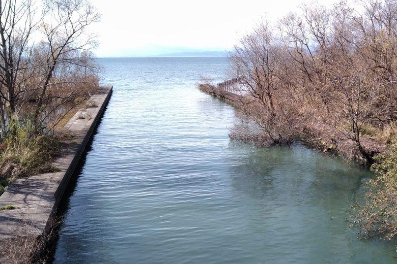 丁野木川の河口