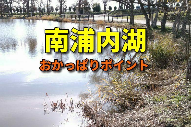 南浦内湖のバス釣りおかっぱりポイント