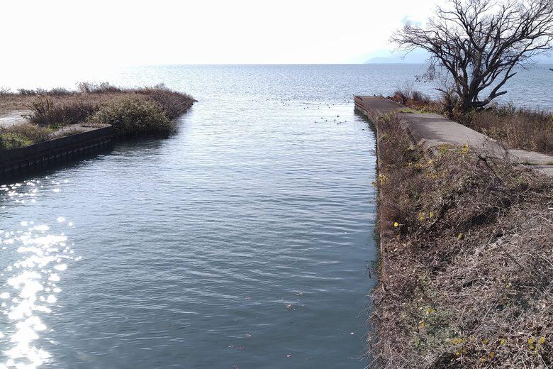 田川の河口