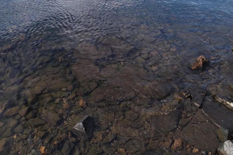 藤ヶ崎のボトムの岩