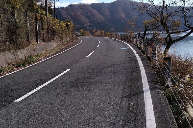 藤ヶ崎の先端部分の県道336号線