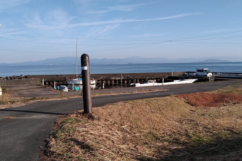 生水川船溜まりの様子