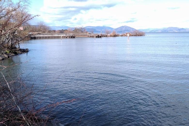 北船木漁港のミオ筋