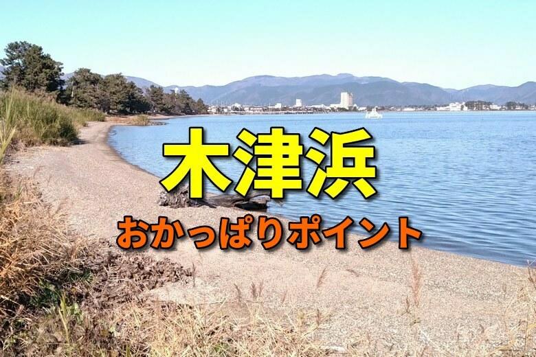 木津浜のバス釣りおかっぱりポイント