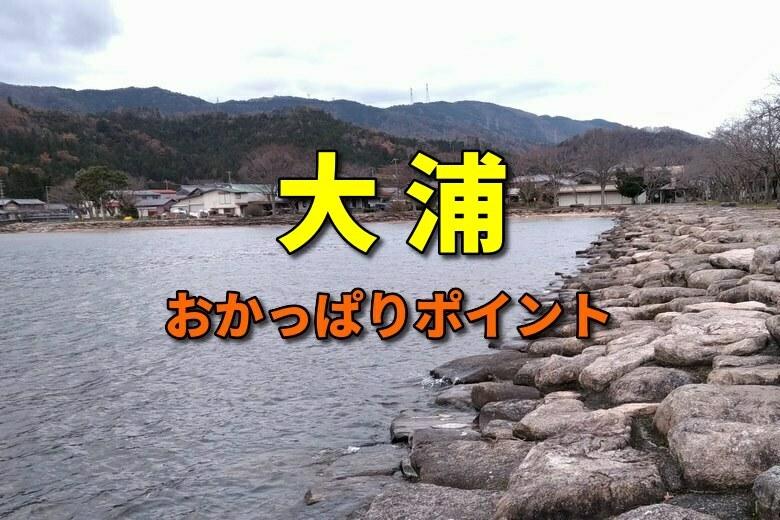 大浦のバス釣りおかっぱりポイント