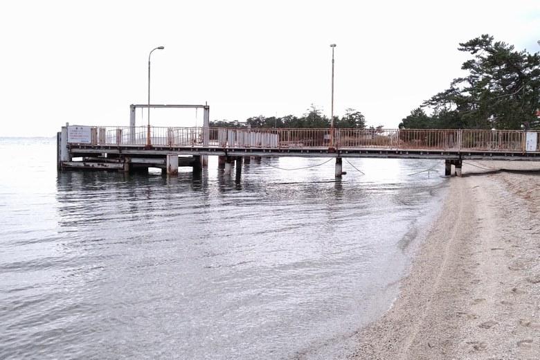 近江舞子のビアンカ桟橋