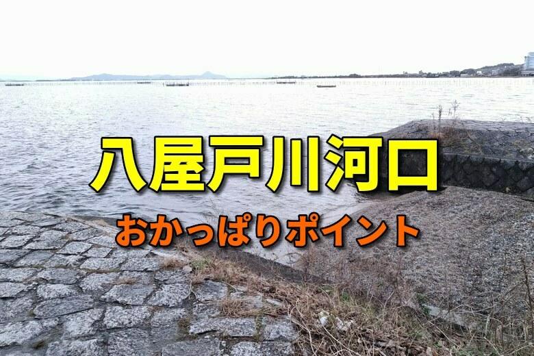 八屋戸川河口のおかっぱりバス釣りポイント