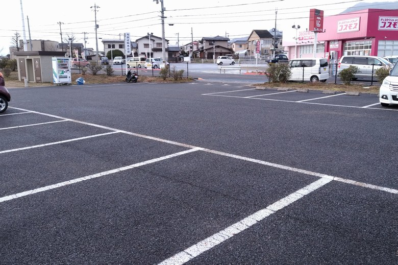 比叡辻臨水公園の駐車場