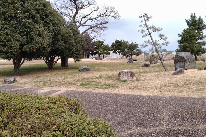 唐崎苑湖岸緑地の公園