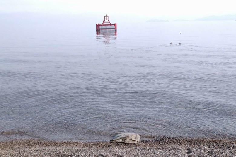 和邇北浜の取水塔