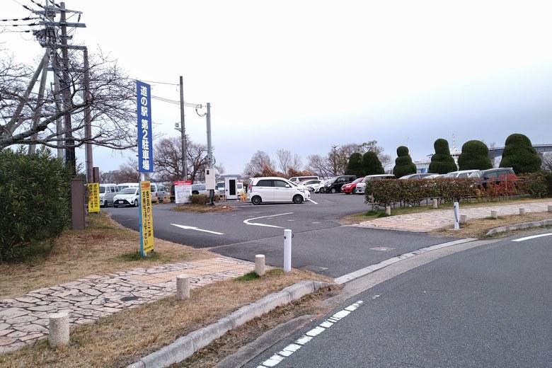 道の駅米プラザの第2駐車場