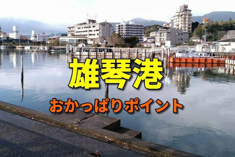 雄琴港のおかっぱりバス釣りポイント