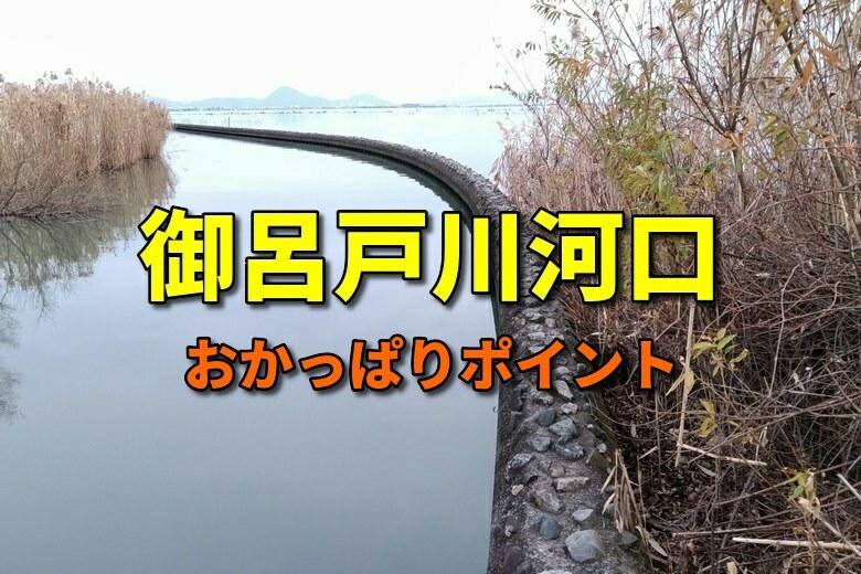 御呂戸川河口のおかっぱりバス釣りポイント