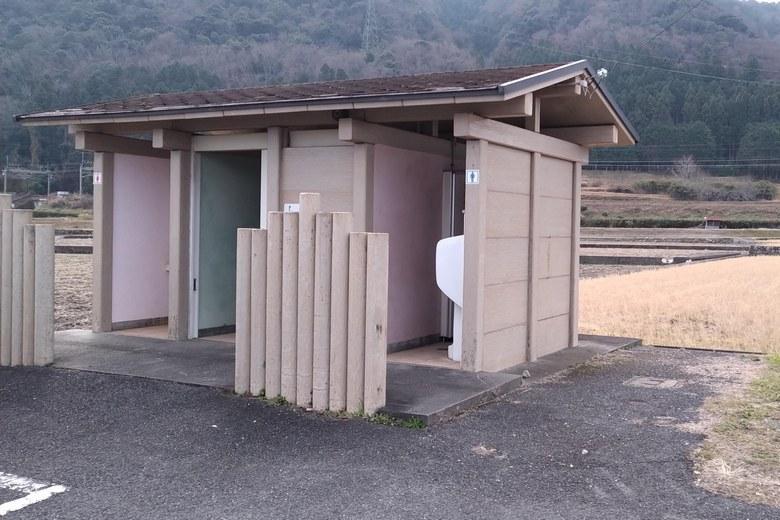 乙女ヶ池のトイレ