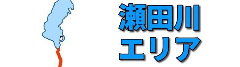 琵琶湖水系の瀬田川のおかっぱりバス釣りポイント