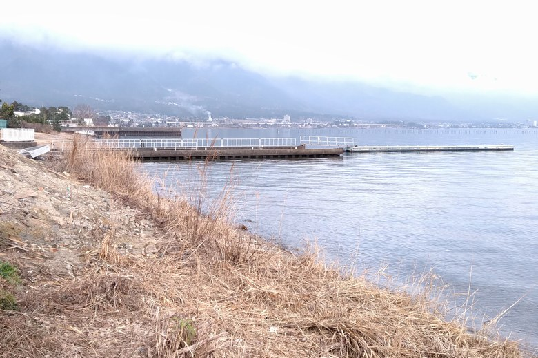 志賀ヨットクラブの桟橋