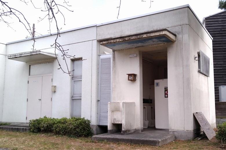 新唐崎公園のトイレ