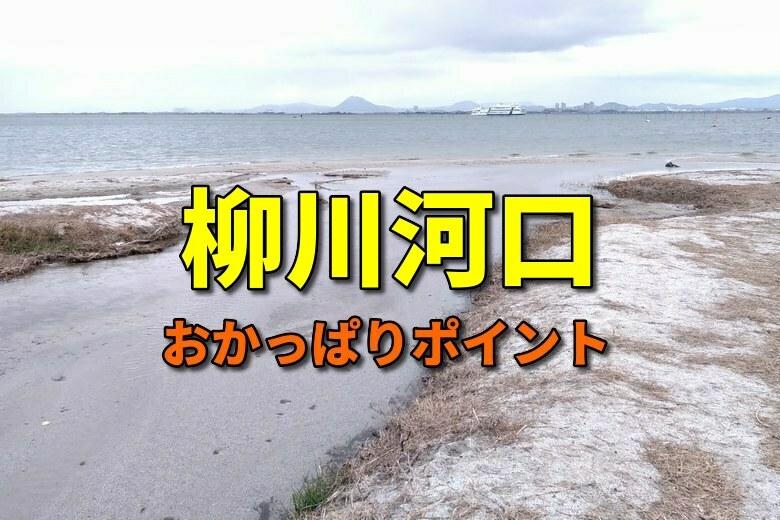 柳川河口のおかっぱりバス釣りポイント