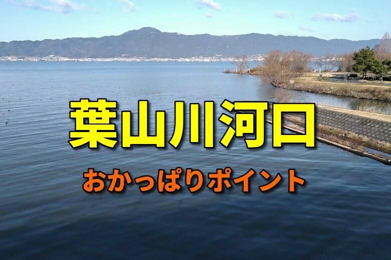 葉山川河口のおかっぱりバス釣りポイント