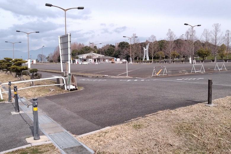 烏丸半島の有料駐車場