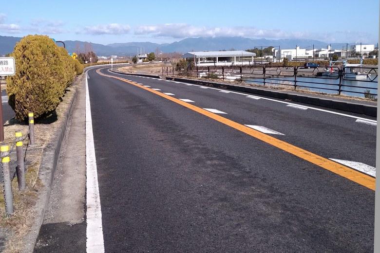 北山田エリアを通る、県道559号線
