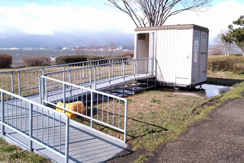 湖岸緑地木浜1にあるトイレ