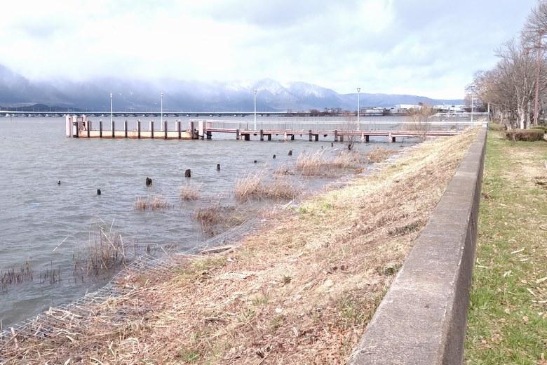 佐川前にある、木浜の桟橋