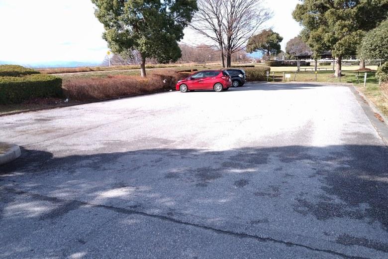 湖岸緑地・長浜2の駐車場