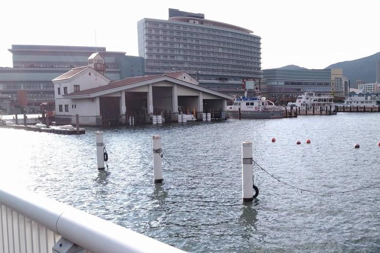 大津港の水上警察