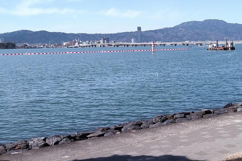 琵琶湖漕艇場のエリア