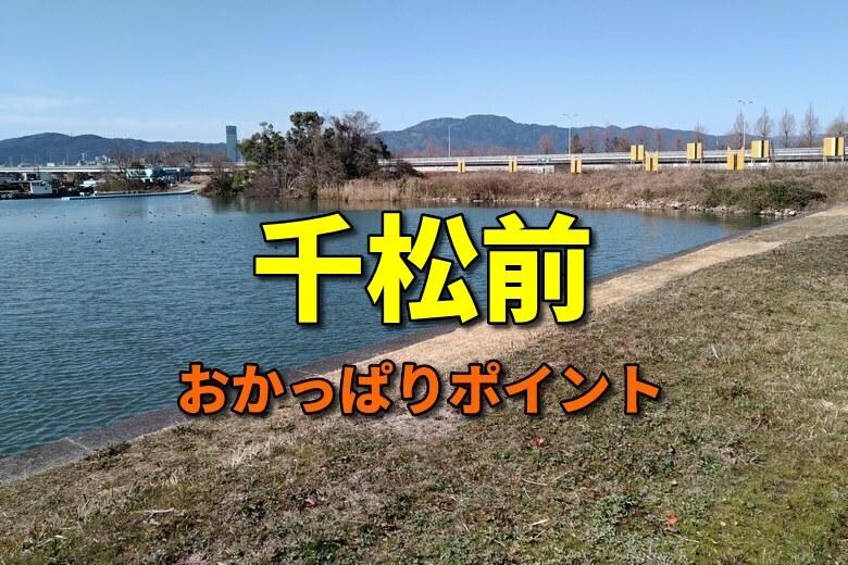 千松前のおかっぱりバス釣りポイント