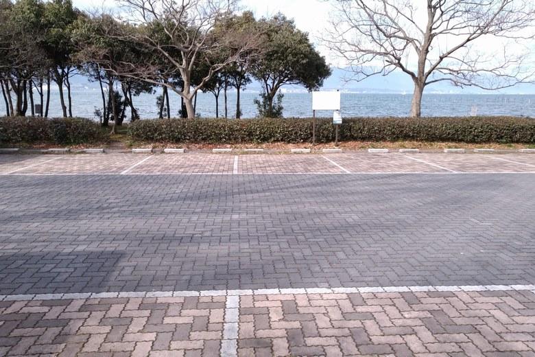 志那1北の駐車場