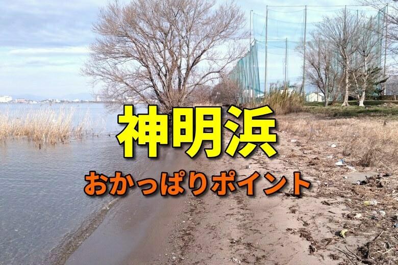 神明浜のおかっぱりバス釣りポイント
