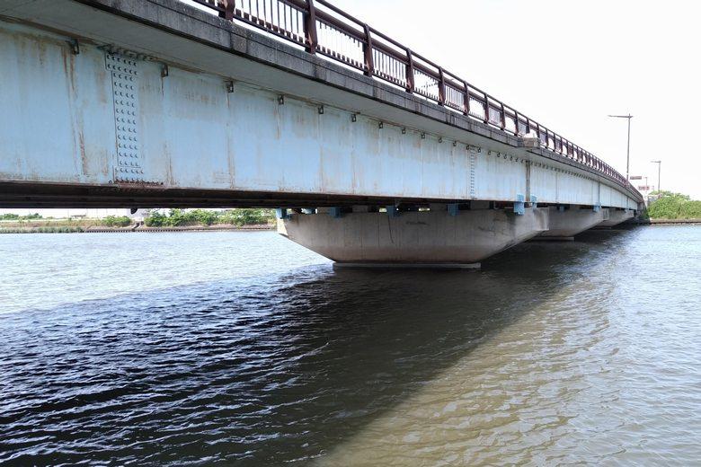 水車橋の橋脚
