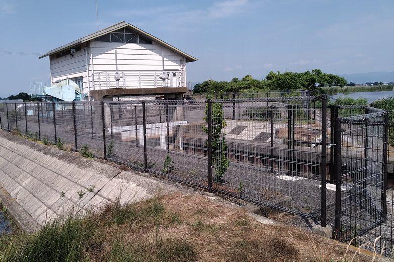 小型の大同川排水機場