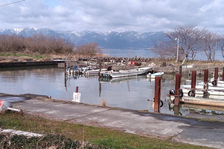 牧船溜まりは釣り禁止