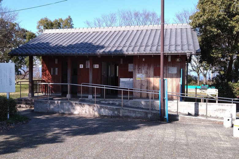 南三ツ谷公園の公衆トイレ