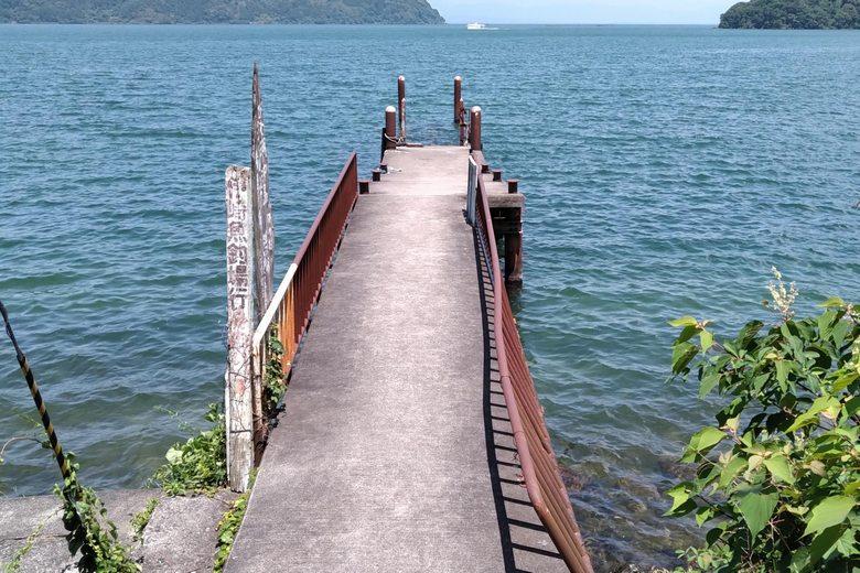 宮ヶ浜の東の桟橋