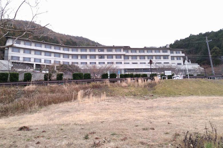 休暇村近江八幡東館の建物