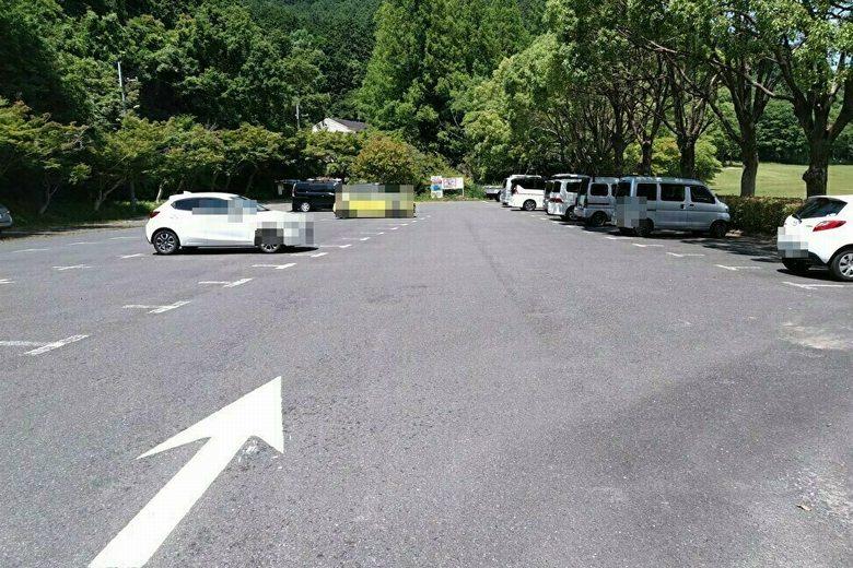 宮ヶ浜の無料駐車場