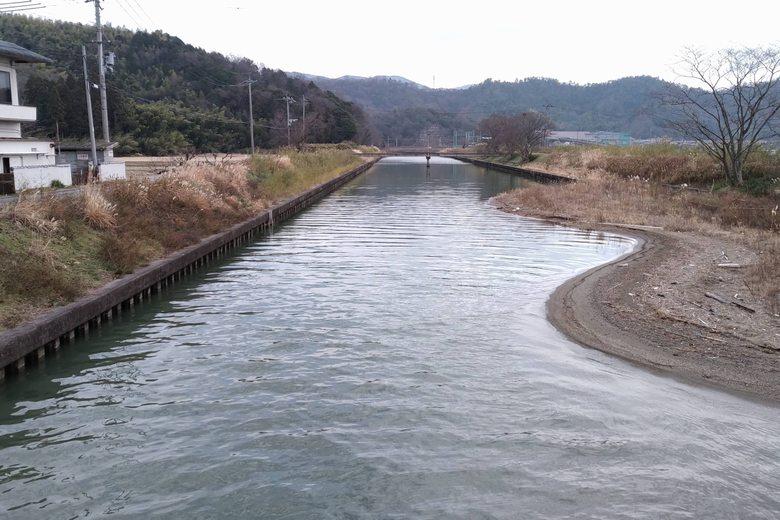 矢倉川の上流