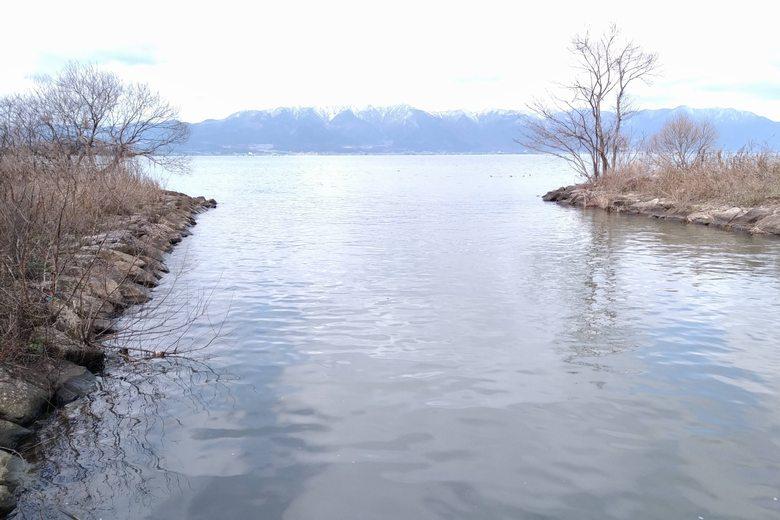 野田排水機場の水路