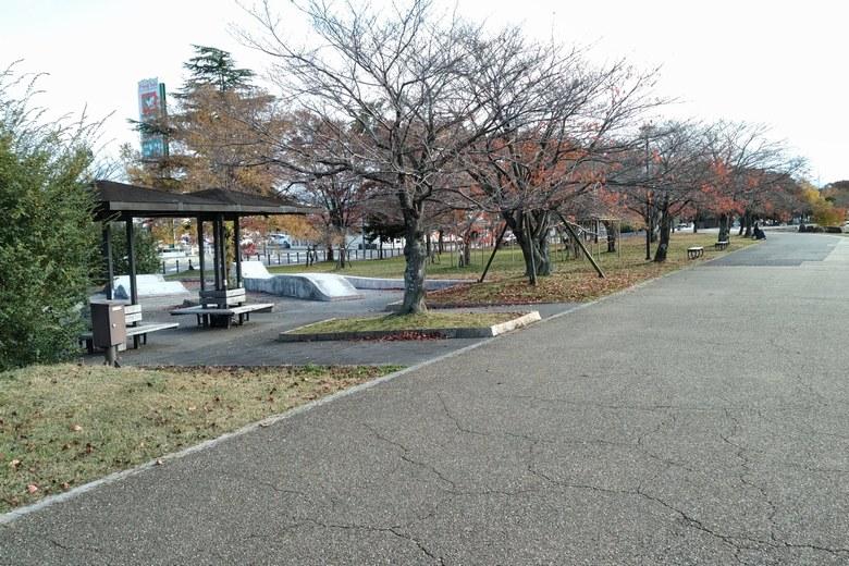 唐橋公園の様子