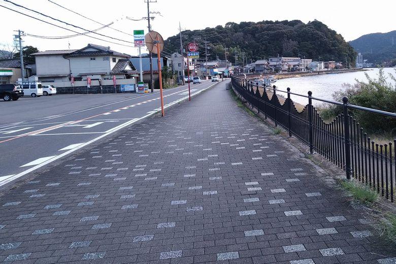 黒津エリアの近くを通る、県道29号線