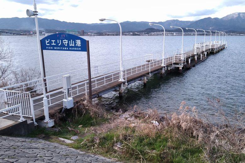 ピエリ守山港の桟橋