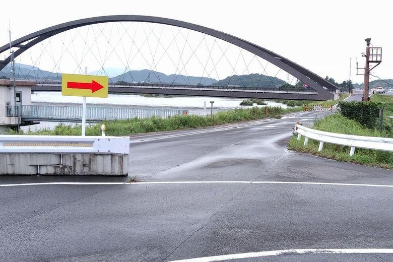 瀬田川令和大橋の近くの空きスペース