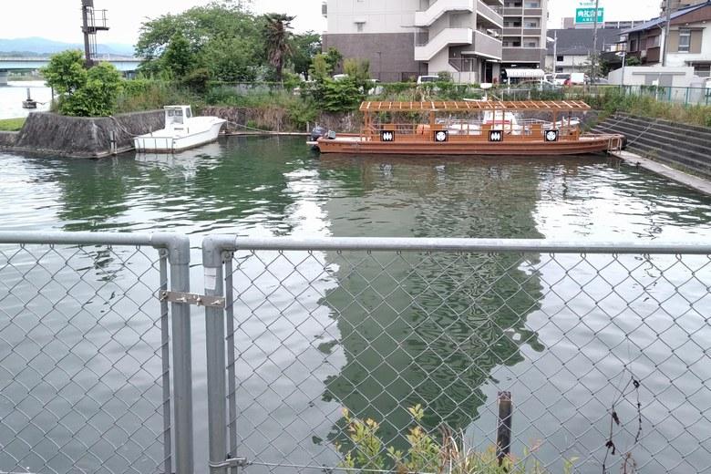 建部大社の船溜まり