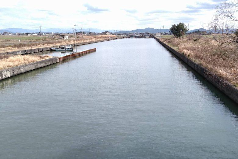 滋賀県野洲市にある吉川漁港