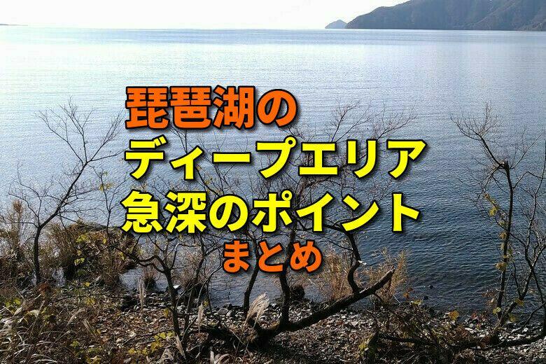 琵琶湖のおかっぱりで狙えるディープエリアのまとめ